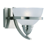 Sea Gull Lighting Eternity 1 Light Bath Vanity in Brushed Nickel 44115-962 photo thumbnail