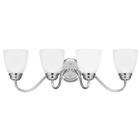 Sea Gull Lighting Northbrook 4 Light Vanity in Chrome 4412404-05