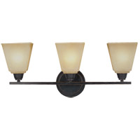 Sea Gull Parkfield 3 Light Bath Light in Flemish Bronze 4413003BLE-845