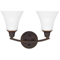 Metcalf 2 Light 16 inch Autumn Bronze Bath Light Wall Light in Fluorescent