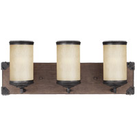 Sea Gull 4413303-846 Dunning 3 Light 21 inch Stardust Wall Sconce Wall Light