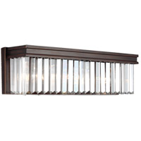 Sea Gull Carondelet 3 Light Bath Light in Burnt Sienna 4414003-710