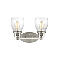 Sea Gull 4414502-962 Belton 2 Light 15 inch Brushed Nickel Bath Vanity Light Wall Light