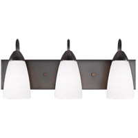Sea Gull 4420203EN3-710 Seville 3 Light 21 inch Burnt Sienna Wall Bath Fixture Wall Light