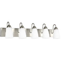 Seville 5 Light 36 inch Brushed Nickel Wall Bath Fixture Wall Light
