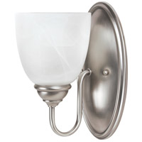Sea Gull Lemont 1 Light Wall Sconce in Antique Brushed Nickel 44316-965