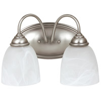 Sea Gull Lemont 2 Light Bath Light in Antique Brushed Nickel 44317-965