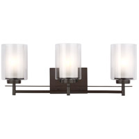 Sea Gull 4437303-782 Elmwood Park 3 Light 22 inch Heirloom Bronze Bath Vanity Wall Light alternative photo thumbnail