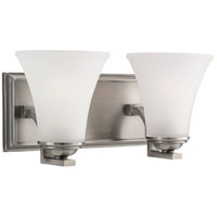Sea Gull Somerton 2 Light Bath Vanity in Antique Brushed Nickel 44375BLE-965