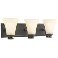 Sea Gull Lighting Somerton 3 Light Bath Vanity in Blacksmith 44376-839
