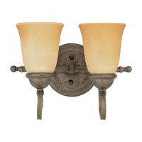 Sea Gull Lighting Brandywine 2 Light Bath Vanity in Antique Bronze 44430-71 photo thumbnail