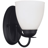 Sea Gull Uptown 1 Light Wall Sconce in Blacksmith 44470BLE-839