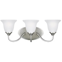 Clement 3 Light 23 inch Brushed Nickel Wall Bath Fixture Wall Light