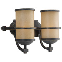 Sea Gull Lighting Roslyn 2 Light Bath Vanity in Flemish Bronze 44521-845