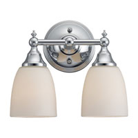 Sea Gull Lighting Finitude 2 Light Bath Vanity in Chrome 44616-05 photo thumbnail