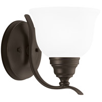 Sea Gull Lighting Wheaton 1 Light Bath Vanity in Heirloom Bronze 44625-782