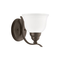 Wheaton 1 Light 7 inch Heirloom Bronze Bath Vanity Light Wall Light