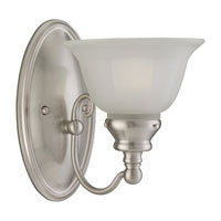 Sea Gull Lighting Canterbury 1 Light Bath Vanity in Brushed Nickel 44650-962 photo thumbnail