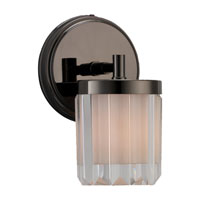 Sea Gull Lighting Nuit Noir Crystal 1 Light Wall / Bath / Vanity in Black Chrome 44690-765 photo thumbnail