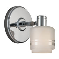 Sea Gull Lighting Groove 1 Light Wall / Bath / Vanity in Chrome 44730-05