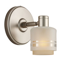 Sea Gull Lighting Groove 1 Light Wall / Bath / Vanity in Golden Pewter 44730-853