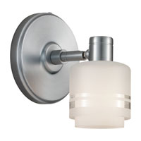 Sea Gull Lighting Groove 1 Light Wall / Bath / Vanity in Brushed Chrome 44730-863 photo thumbnail