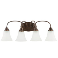 Holman 4 Light 25 inch Bell Metal Bronze Bath Light Wall Light