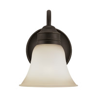 Gladstone 1 Light 7 inch Heirloom Bronze Bath Vanity Light Wall Light
