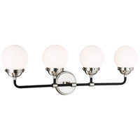 Sea Gull 4487904EN-962 Cafe LED 30 inch Brushed Nickel Wall Bath Fixture Wall Light