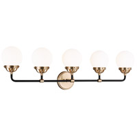 Sea Gull 4487905EN-848 Cafe LED 38 inch Satin Bronze Wall Bath Fixture Wall Light