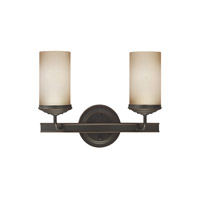 Sea Gull 4491402EN3-715 Sfera 2 Light 14 inch Autumn Bronze Wall Bath Fixture Wall Light