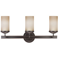 Sea Gull Sfera 3 Light Bath Vanity in Autumn Bronze 4491403-715