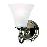 Sea Gull Lighting Joliet 1 Light Bath Vanity in Polished Nickel 44935-841 photo thumbnail