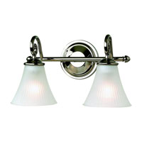 Sea Gull Lighting Joliet 2 Light Bath Vanity in Polished Nickel 44936-841 photo thumbnail