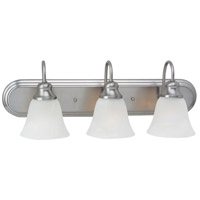 Windgate 3 Light 24 inch Brushed Nickel Bath Vanity Wall Light in Standard