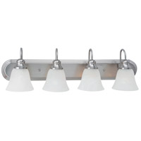 Windgate 4 Light 30 inch Brushed Nickel Bath Vanity Wall Light in Standard
