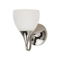 Sea Gull Lighting Solana 1 Light Bath Vanity in Polished Nickel 44971BLE-841 photo thumbnail