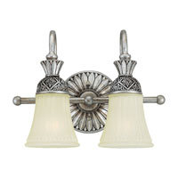 Sea Gull Lighting Highlands 2 Light Bath Vanity in Palladium 47251-824 photo thumbnail