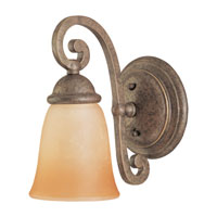 Sea Gull Lighting Brandywine 1 Light Bath Vanity in Antique Bronze 49031BLE-71