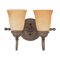 Sea Gull Lighting Brandywine 2 Light Bath Vanity in Antique Bronze 49032BLE-71 photo thumbnail