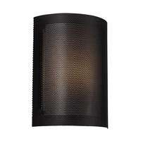Sea Gull ADA Bath Sconce in Black 4933391S-12