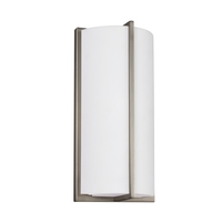 ADA 1 Light 6 inch Brushed Nickel Bath Sconce Wall Light