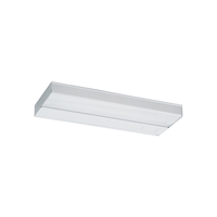 Ambiance Self-Contained Fluorescent Fluorescent 12 inch White Under Cabinet Light in Bulb Included, 12.25