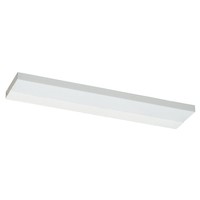 Ambiance Self-Contained Fluorescent Fluorescent 21 inch White Under Cabinet Light in Bulb Included, 21.25