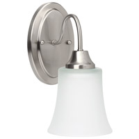 Sea Gull Holman 1 Light Wall Sconce in Brushed Nickel 49806BLE-962 photo thumbnail