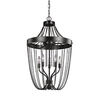 Kelvyn Park 5 Light 18 inch Stardust Foyer Light Ceiling Light