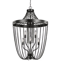 Kelvyn Park 6 Light 23 inch Stardust Foyer Pendant Ceiling Light
