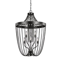 Kelvyn Park 6 Light 23 inch Stardust Foyer Light Ceiling Light
