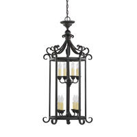 Del Prato 8 Light 21 inch Chestnut Bronze Foyer Light Ceiling Light