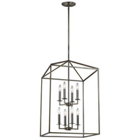 Sea Gull 5115008-782 Perryton 8 Light 19 inch Heirloom Bronze Foyer Pendant Ceiling Light